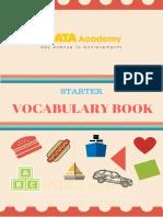 Vocabulary Starter Book KATA 1-8