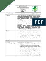 SOP Monitoring Dan Analisis