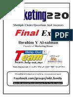 Final Mkt220