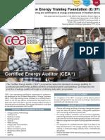 EnTF CEA Course E-Brochure