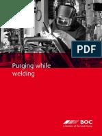 Purging Welding