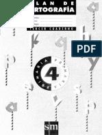 Plan de Ortografía SM, Cuaderno 3