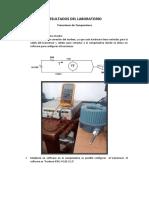 Transmisor de Temperatura y Presión