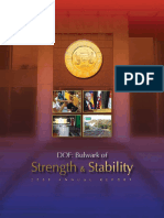 DOF - Bulwark of Strength & Stability 2009 Annual Report