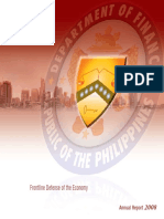 Frontline Defense of the Economy 2008 Annual Report