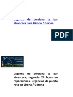urgencia Garaje Girona