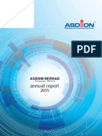 Asdion Annual Report