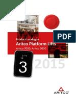 Aritco Platform Lifts 2014 DEC en L