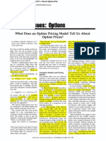 What Does an Option Pricing Model Tell Us about Option Prices