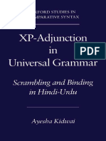 XP Adjunction -Kidwayi
