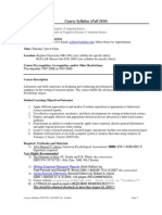 UT Dallas Syllabus for psy3393.503.10f taught by Richard Golden (golden)