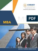 Mba Regular Brochure 2017 Final