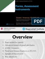 2017 09 27 - LOINC - Panels Forms Assessments.pdf