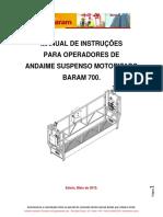 Manual de Balancim Eletrico