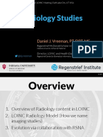 2017 09 28 - LOINC - Radiology Studies