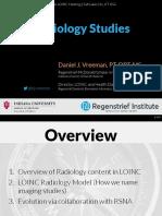2017 09 28 - LOINC - Radiology Studies