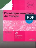 Phonétique essentielle du français A1 A2 - DIDIER