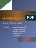 ADMINISTRACION POR PATRICIA GUZZO