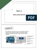 UGO Arduino handleiding - Deel 6