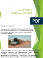 Recepção e Transporte