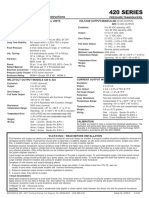 transductor de presion Series 420 Im