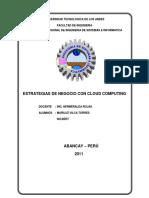 5.La Estrategia Del Negocio Con Cloud Computing