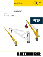 Fcc-cbg 25 Liebherr  Crane technical Manual