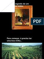 Vinhos - O Segredo De Um Bom Vinho.pps