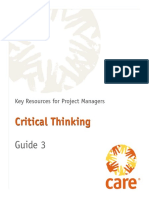 3 Critical Thinking