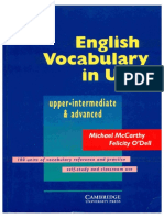 (Grammar) - Cambridge University Press - English Vocabulary In Use - Upper-Intermediate & Advance.pdf