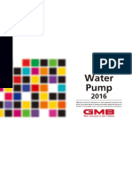 Water Pump 2016 GMB