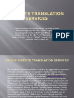 Website Translation Services