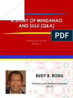 A Story of Mindanao and Sulu (Q&A)