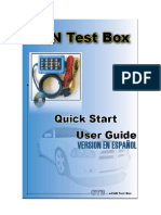 Manual CAN Test Box TA069