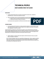 C05 M01 RolePlay01 ScenarioPlanningForm Test Lead