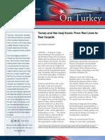 Turkey and the Iraqi Kurds