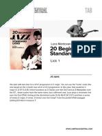 20 Jazz Licks