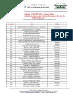 2018 Vestibular Unifesp Sistema Misto Resultado Recurso e Revisao