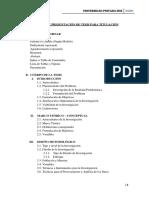 Formato de Presentación de Tesis de Titulacion First Draft