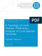 ICSR - A Typology of Lone Wolves - Preliminary Analysis of Lone Islamist Terrorists [2011 Pantucci].pdf