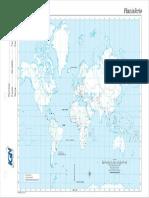 Mapa Planisferio