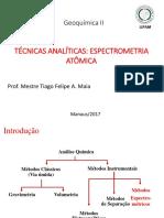 Técnicas Analíticas espectrométricas