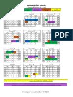 cpsd calendar 2017-2018 spanish