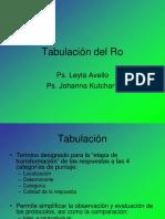 Tabulación del Localizaciones Ro.pptx