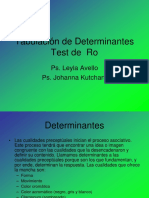 Tabulación de Determinantes F.ppt