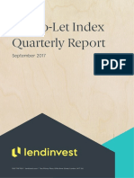LendInvest BTL Index September Report 2017