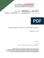 ImplementationGuide IFCHeaderData Version 1.0.2
