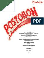 RESEÑA POSTOBON