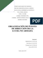 Organización de Puesto de Dirección de La