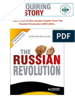 Russian Revolution Sample Pages